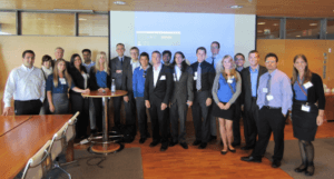 Chapman MBAs at Nokia HQ in 2011