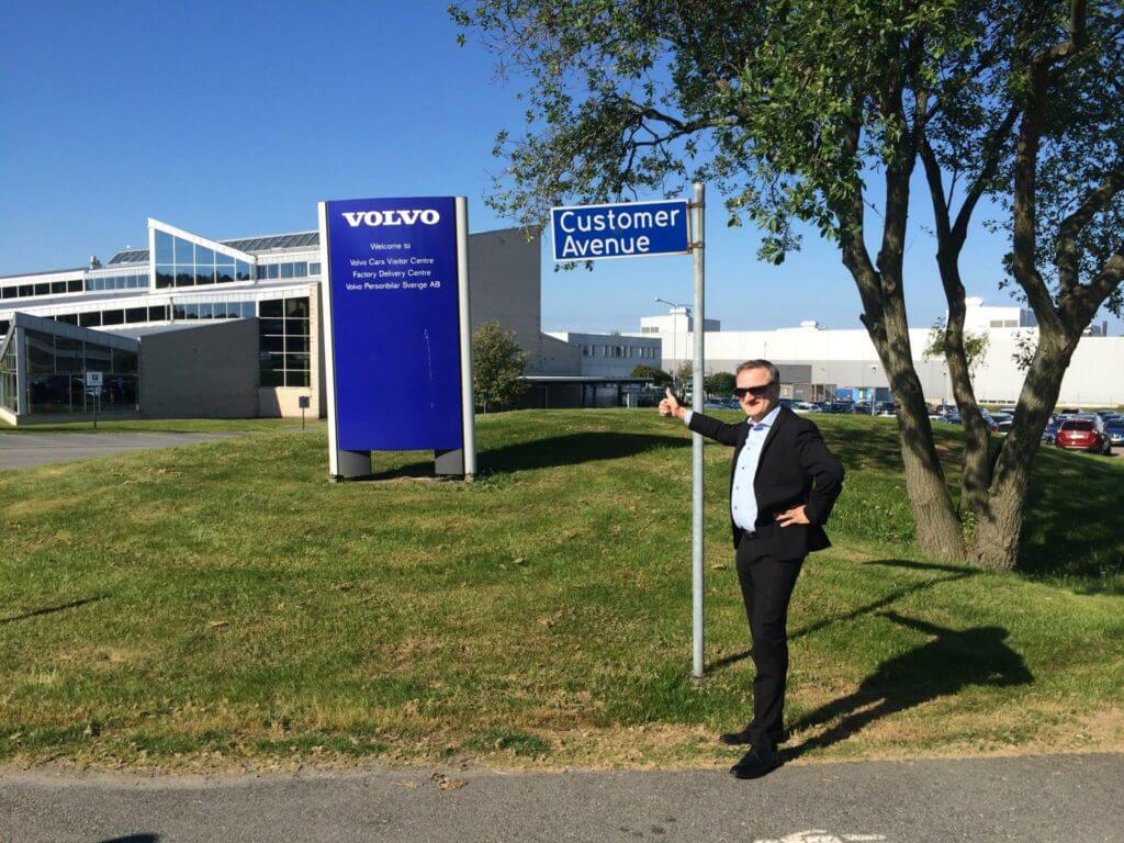 Customer Avenue at Volvo Cars and Niklas Myhr
