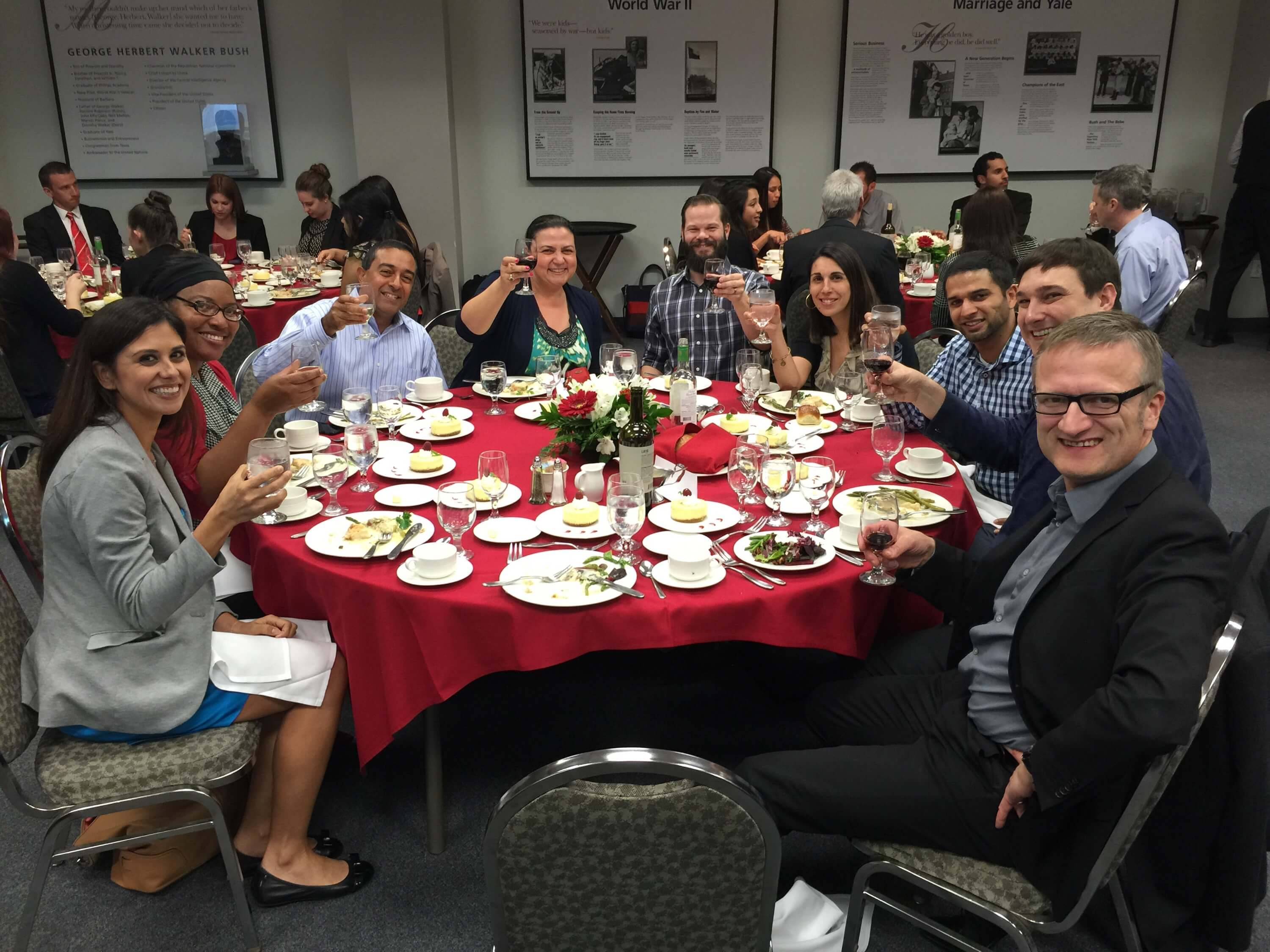 Chapman EMBA 2016 class at event