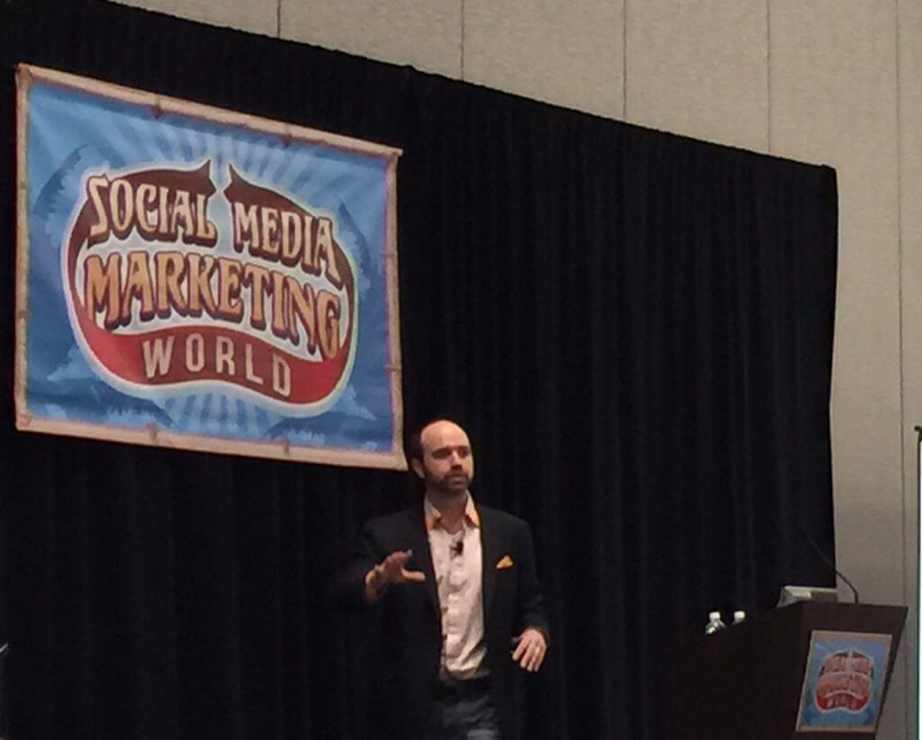 Joe Pulizzi at Social Media Marketing World 2015, Content Marketing, 2