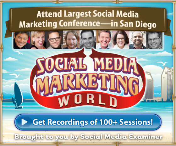 Social Media Marketing World virtual pass
