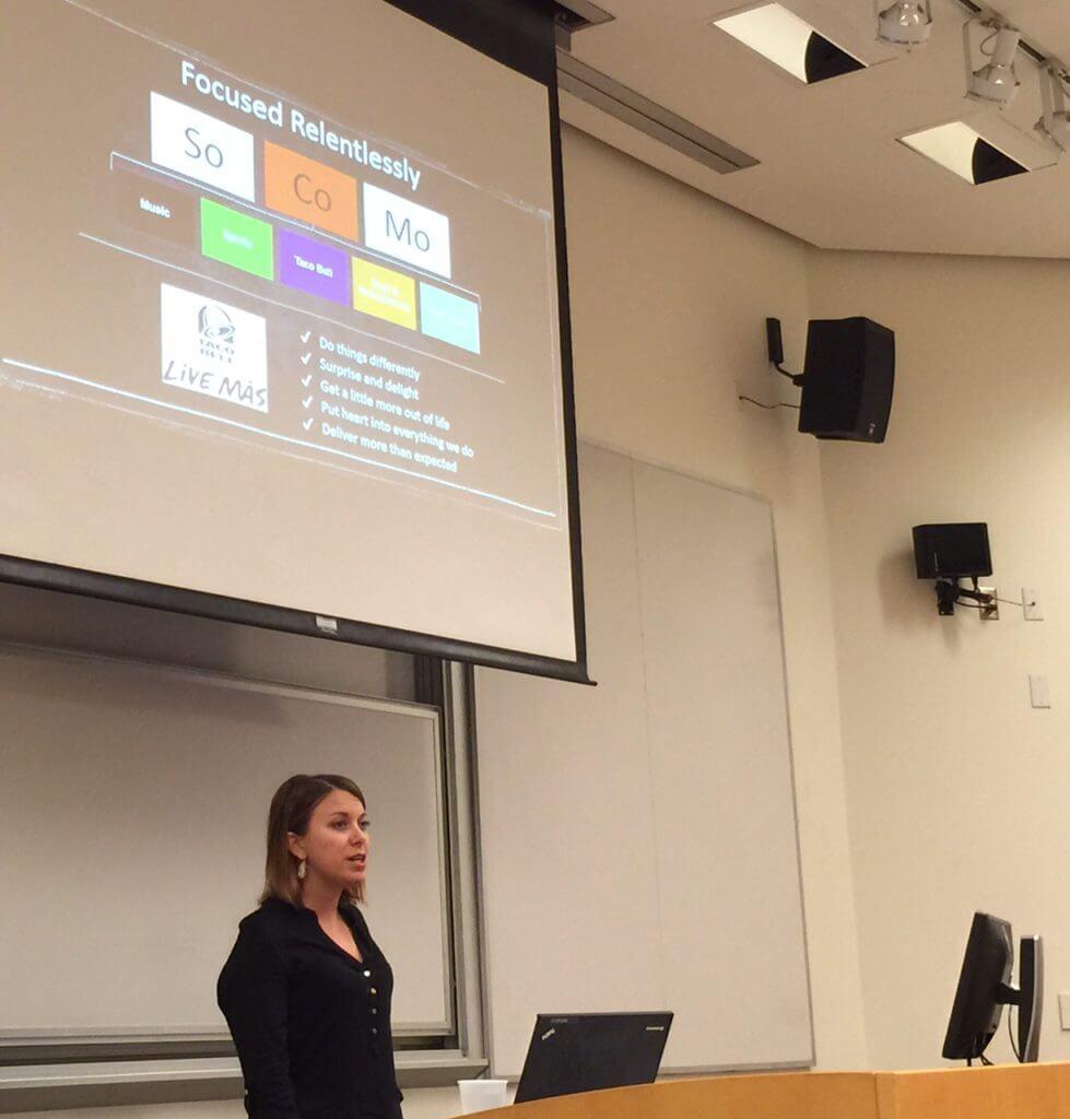 Tressie Lieberman at Chapman University 1