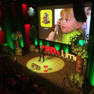 Snapchat TEDx TEDxUmea NiklasMyhr