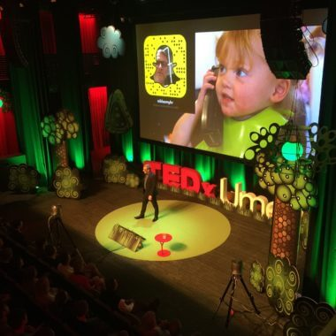 TEDxUmea, Niklas Myhr, TEDxTalks, The Social Media Professor, Snapchat