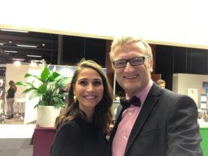 Isabella Ljungdahl och Niklas Myhr