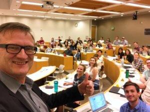 Niklas Myhr Chapman University Social Media Marketing Class