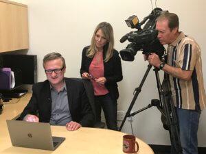 CBS LA TV, Niklas Myhr, Stacey Butler, Lady Doritos 1