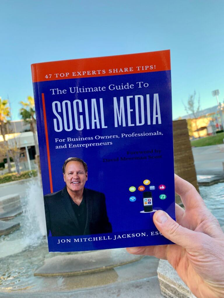 Mitch Jackson, social media book, Chapman University, Niklas Myhr