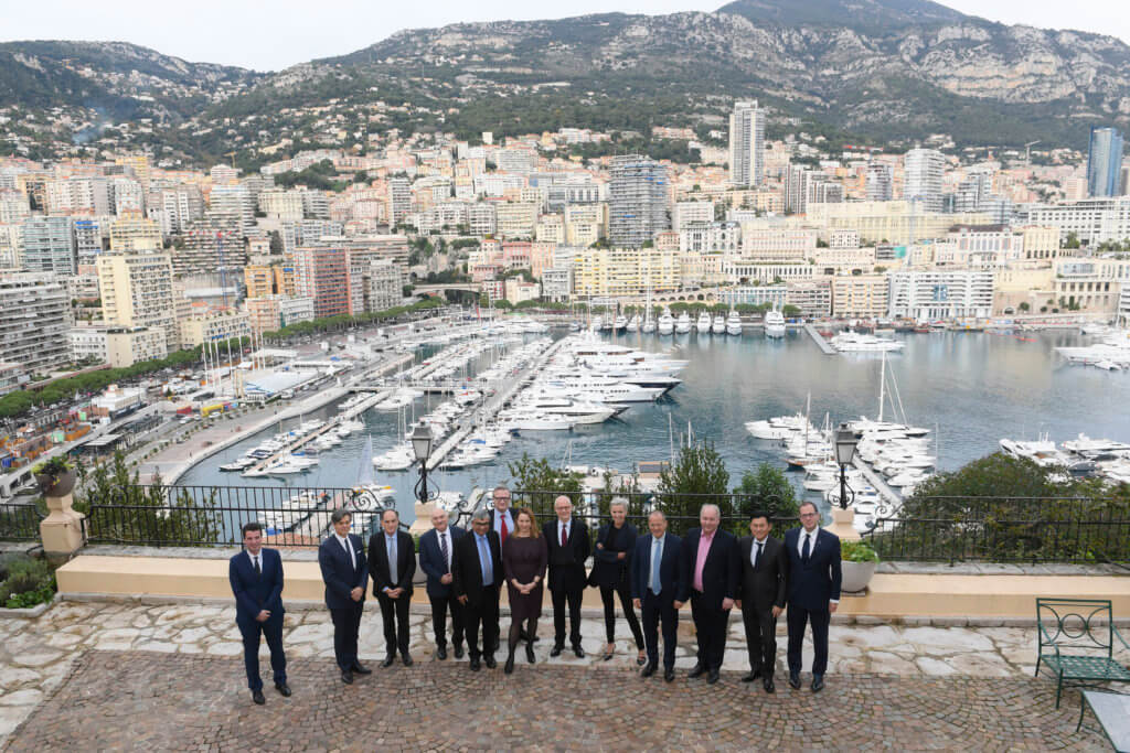 Monaco Digital Advisory Council Lunch at Residence outside