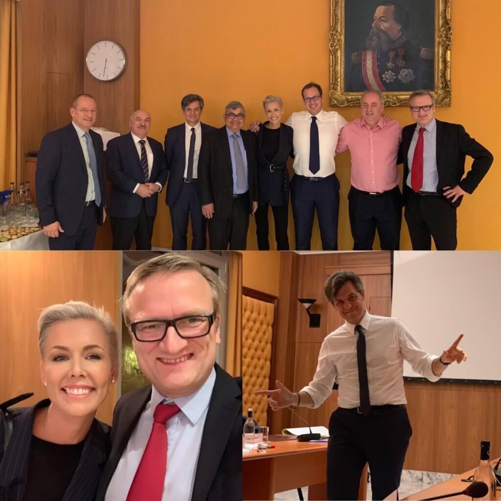 Monaco Digital Advisory Council at work w Frederic Genta, Gunhild Stordalen, Niklas Myhr