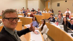 Digital Marketing Class, Chapman University, Niklas Myhr, The Social Media Professor