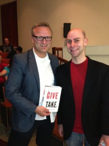 Niklas Myhr, Adam Grant, Give and Take, Cal Tech