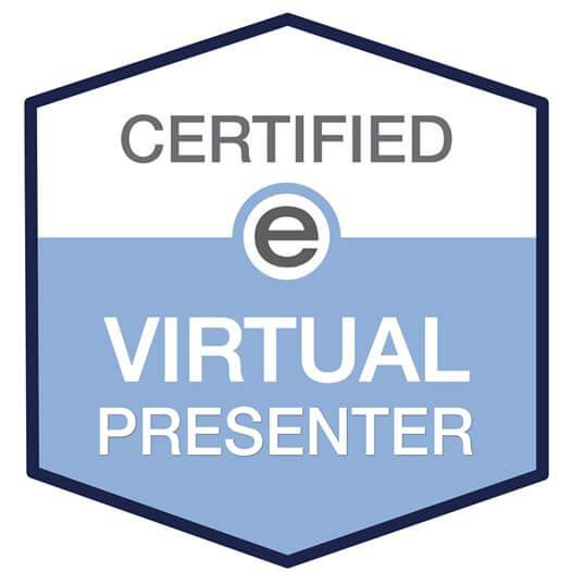 Certified Virtual Presenter, CVP, eSpeakers