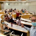 Digital Marketing class, Chapman University, Niklas Myhr, The Social Media Professor
